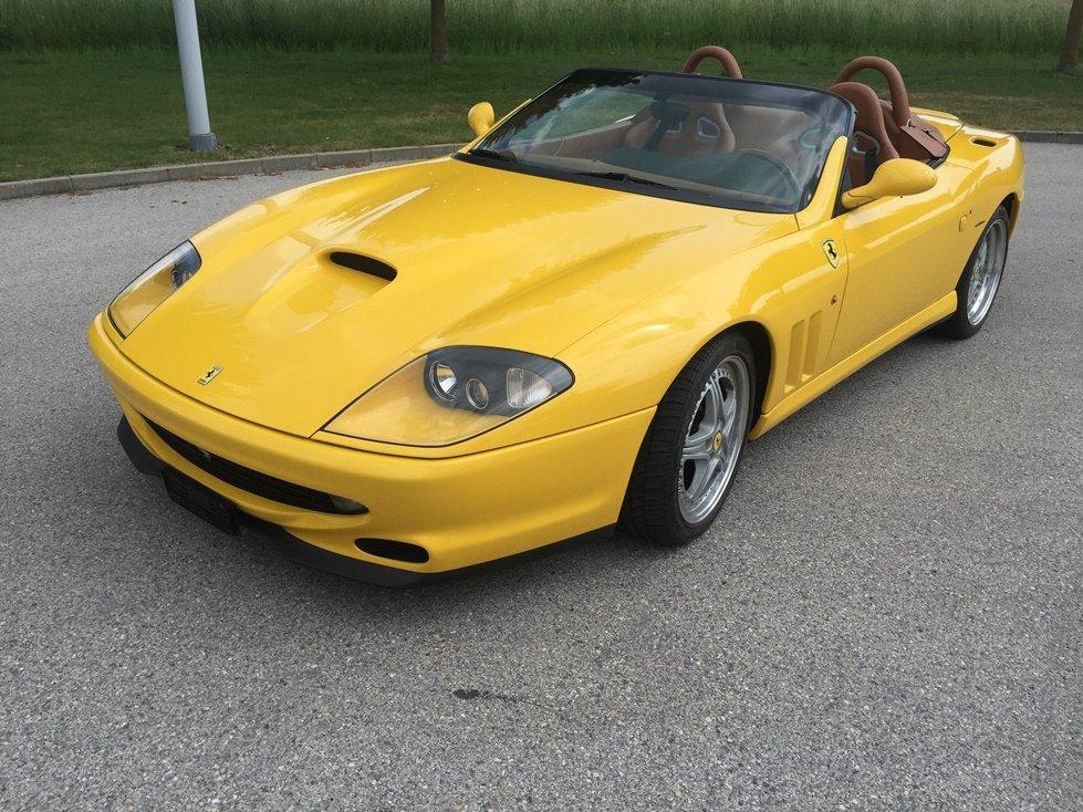 2001 FERRARI F 550 Barchetta Capote éléctrique  For Sale (picture 1 of 6)