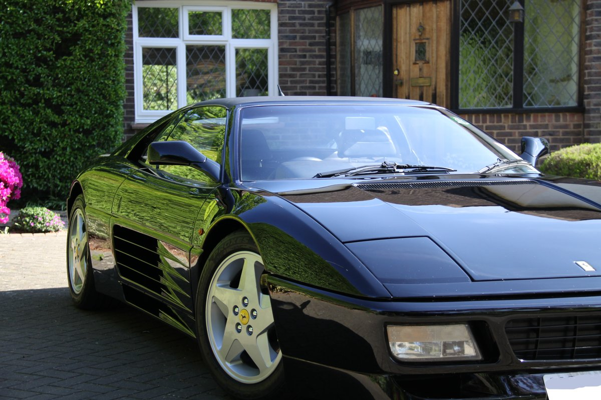 1993 Ferrari 348 TS Black with Black For Sale (picture 2 of 6)
