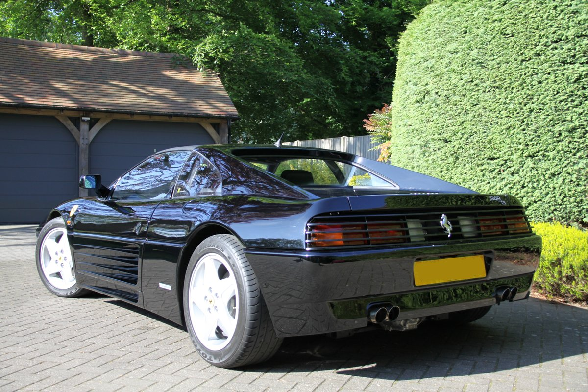 1993 Ferrari 348 TS Black with Black For Sale (picture 3 of 6)