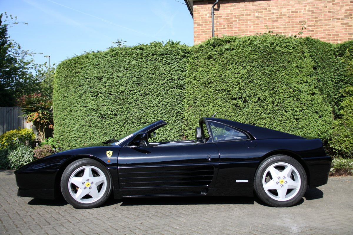 1993 Ferrari 348 TS Black with Black For Sale (picture 4 of 6)