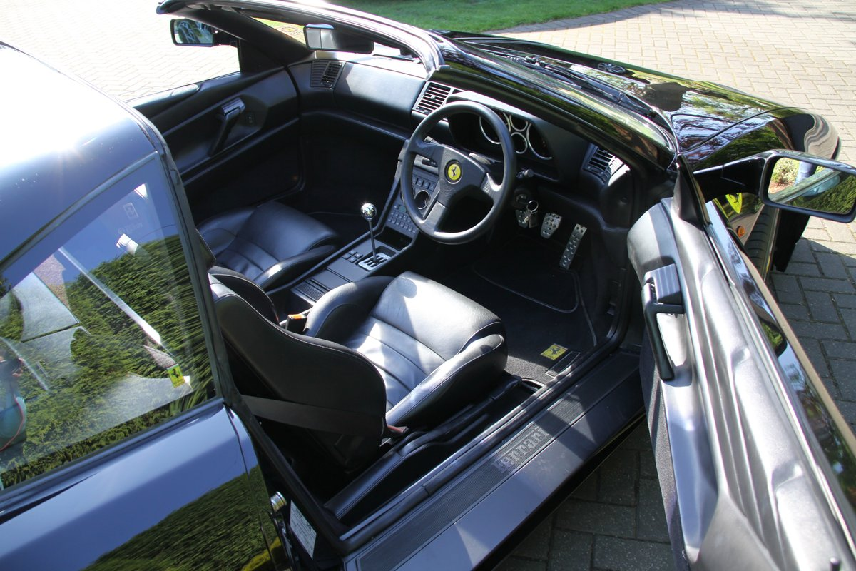 1993 Ferrari 348 TS Black with Black For Sale (picture 5 of 6)