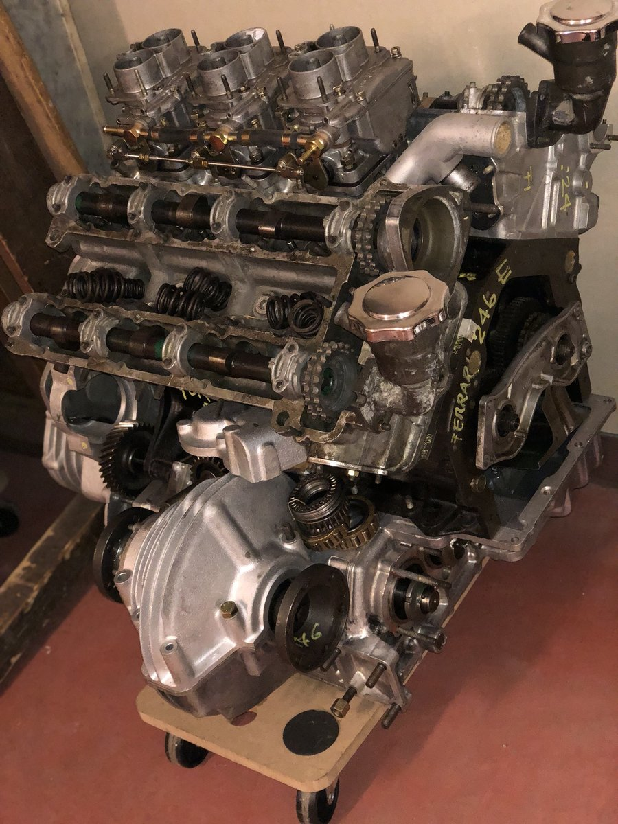 1972 ENGINE FERRARI 246 GT series E  For Sale (picture 1 of 2)
