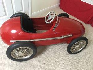 American Retro ferrari classic pedal Racing car For Sale