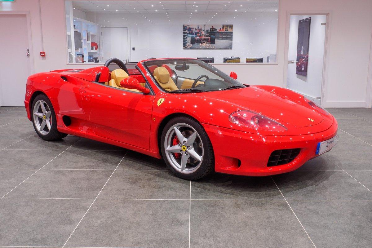 2003 Ferrari 360 Manual Gearbox : Rosso Corsa : Ultra Low Mileage For Sale (picture 1 of 6)