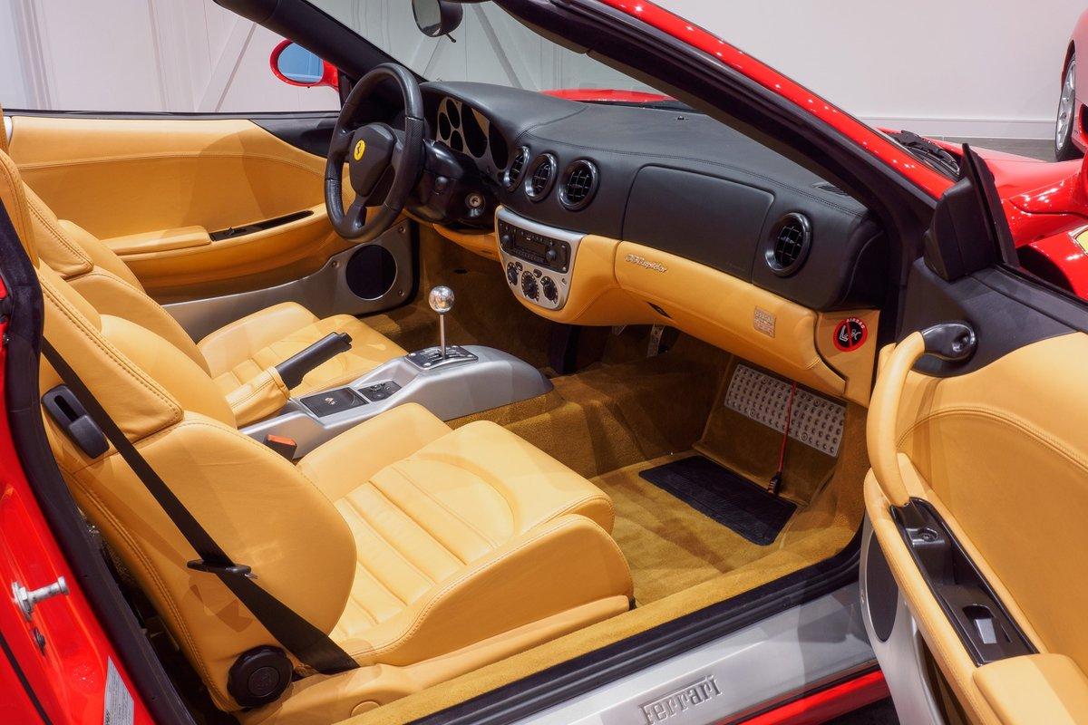 2003 Ferrari 360 Manual Gearbox : Rosso Corsa : Ultra Low Mileage For Sale (picture 4 of 6)