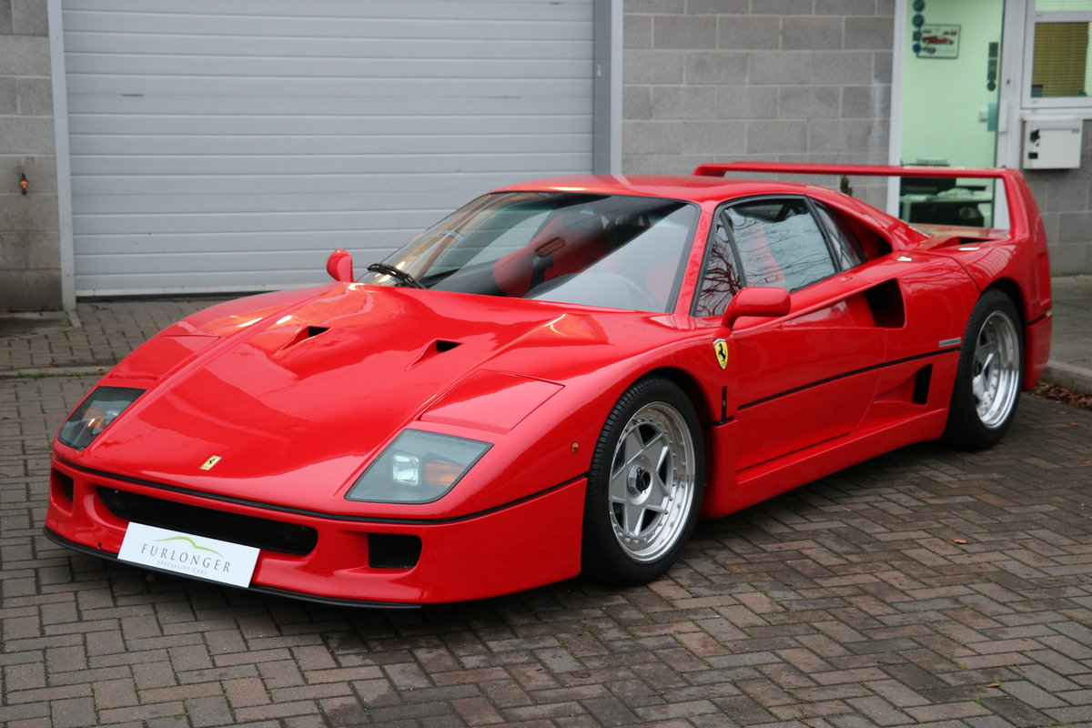 Ferrari F40 (All Models) Servicing \u0026 Maintenance For Sale