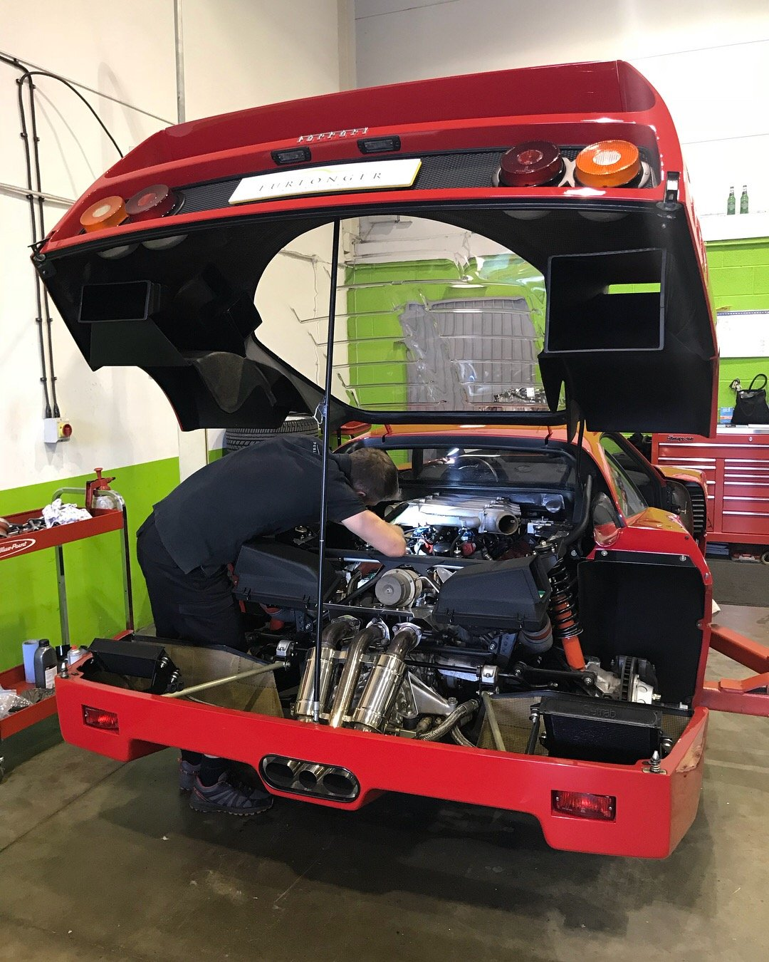 Ferrari F40 (All Models) Servicing & Maintenance  For Sale (picture 2 of 5)