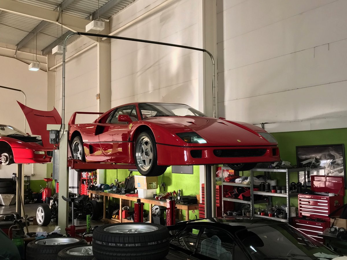 Ferrari F40 (All Models) Servicing & Maintenance  For Sale (picture 3 of 5)