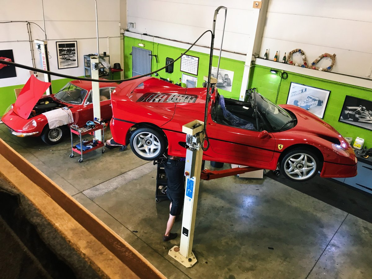 Ferrari F50 Servicing & Maintenance  For Sale (picture 2 of 4)