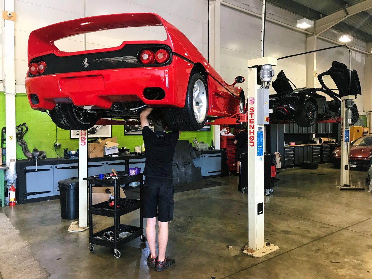 Ferrari F50 Servicing & Maintenance  For Sale (picture 3 of 4)