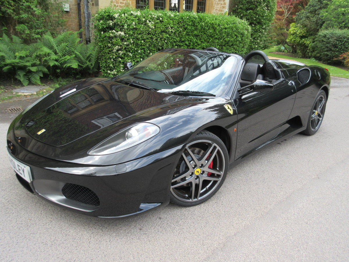 2006 Ferrari 430 F1 spider-one of just 136  For Sale (picture 1 of 6)
