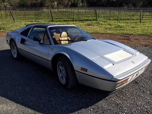 1988 Ferrari 328 GTS = Silver(~)Tan was featured on Hemmings For Sale