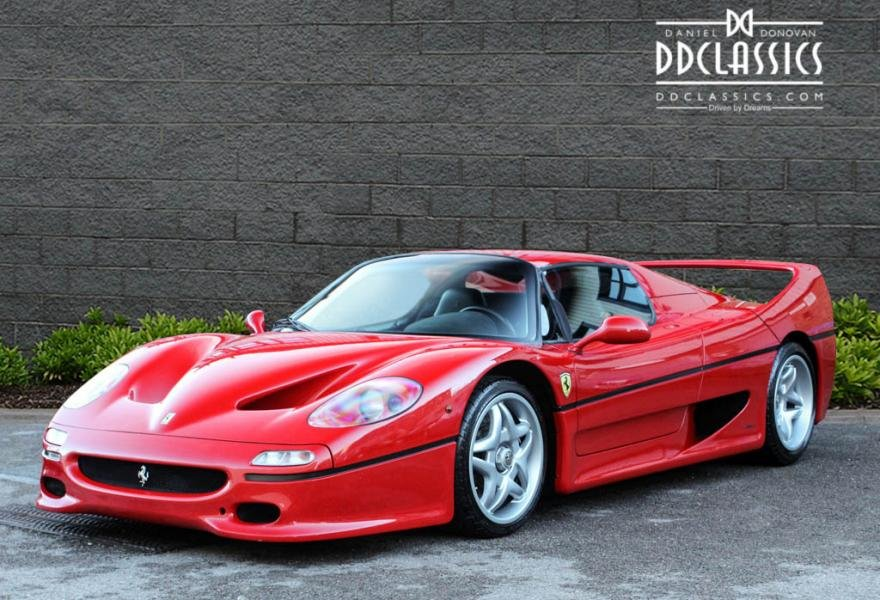 1997 Ferrari F50 (LHD) for sale in London For Sale (picture 1 of 12)
