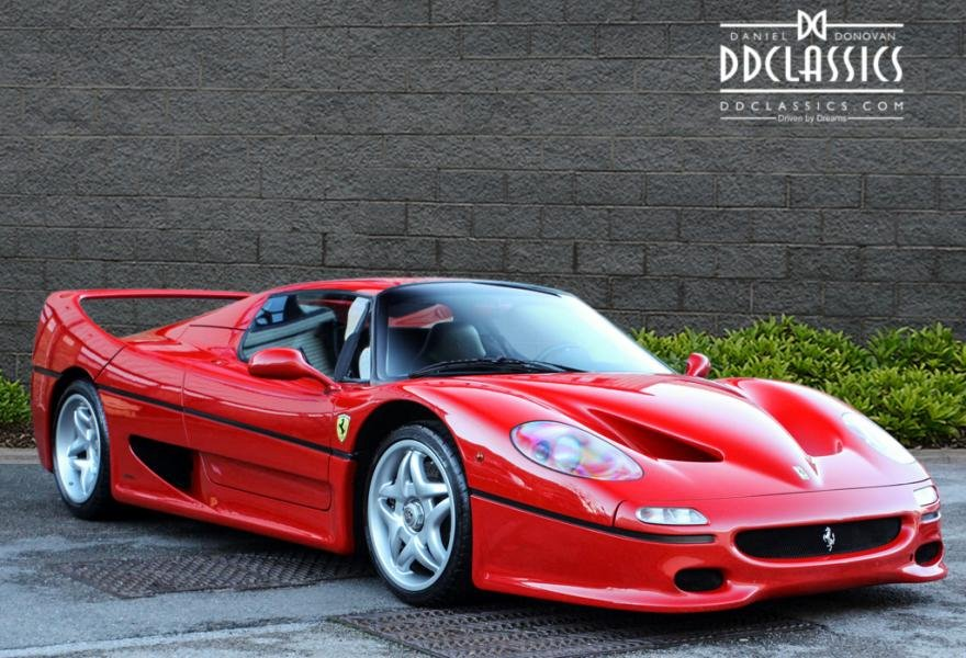 1997 Ferrari F50 (LHD) for sale in London For Sale (picture 2 of 12)