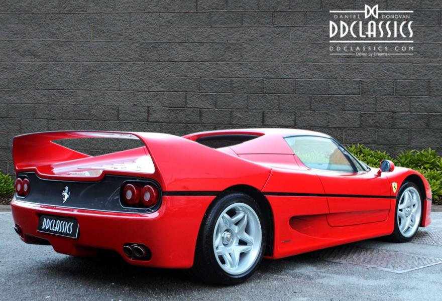 1997 Ferrari F50 (LHD) for sale in London For Sale (picture 3 of 12)