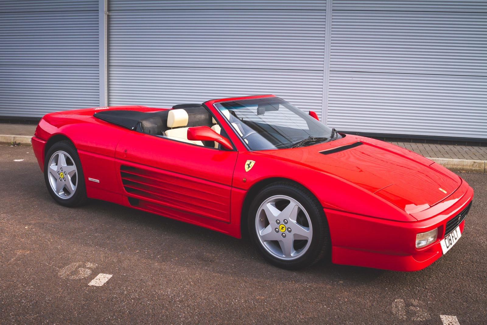 1994 Ferrari 348 Spider SOLD (picture 5 of 6)