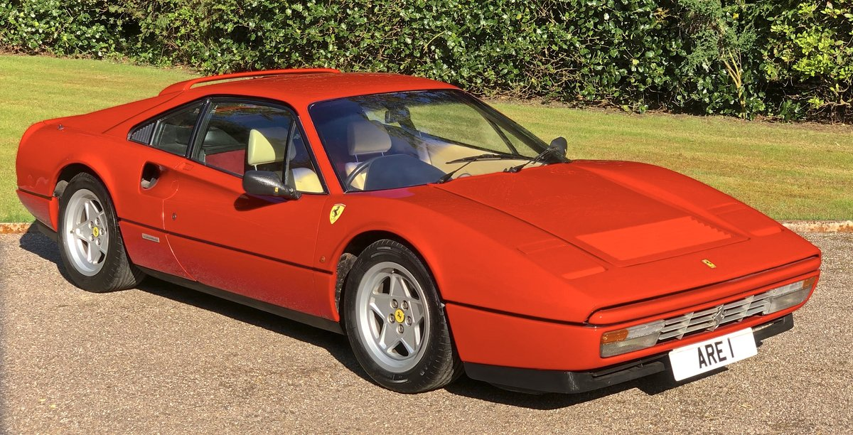 1987 FERRARI 328 GTB  Pre ABS UK example just serviced For Sale (picture 1 of 6)