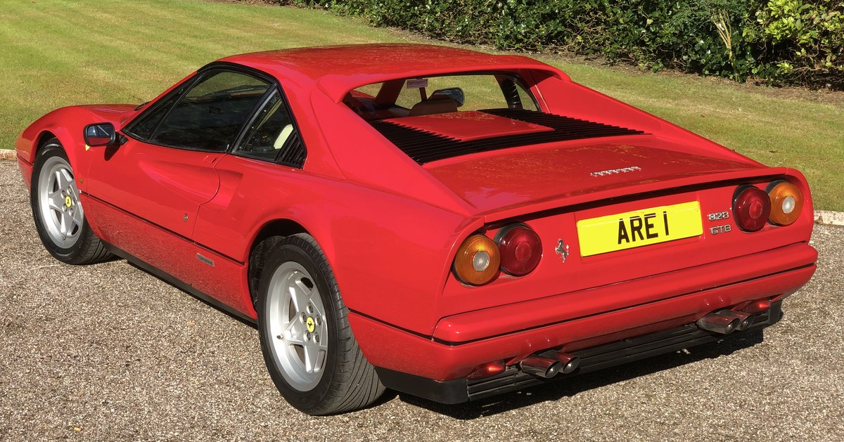 1987 FERRARI 328 GTB  Pre ABS UK example just serviced For Sale (picture 4 of 6)