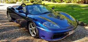 2001 Stunning 360 F1 spider with low miles! For Sale