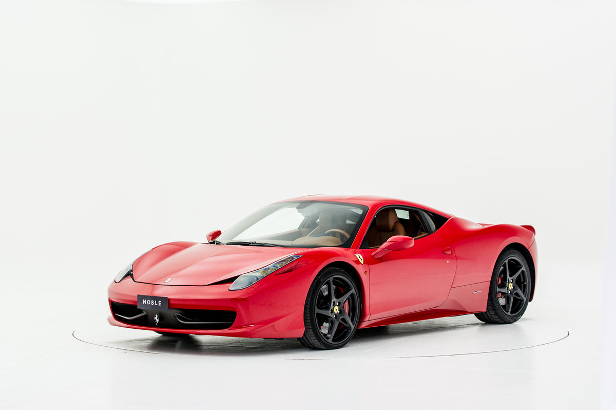 2010 FERRARI 458 For Sale by Auction (picture 1 of 6)
