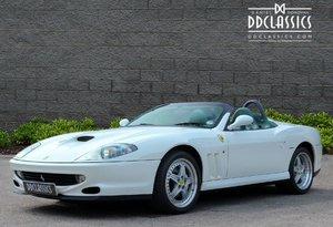 2002 Ferrari 550 Barchetta RHD For Sale In London For Sale