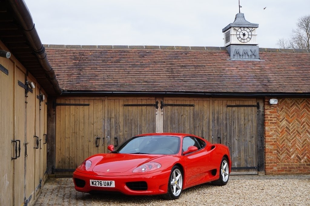 2000 FERRARI 6 SPEED MANUAL COUPE L.H.D For Sale (picture 1 of 6)
