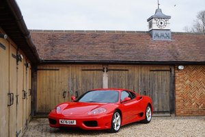 2000 FERRARI 6 SPEED MANUAL COUPE L.H.D For Sale