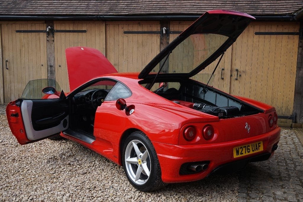 2000 FERRARI 6 SPEED MANUAL COUPE L.H.D For Sale (picture 2 of 6)