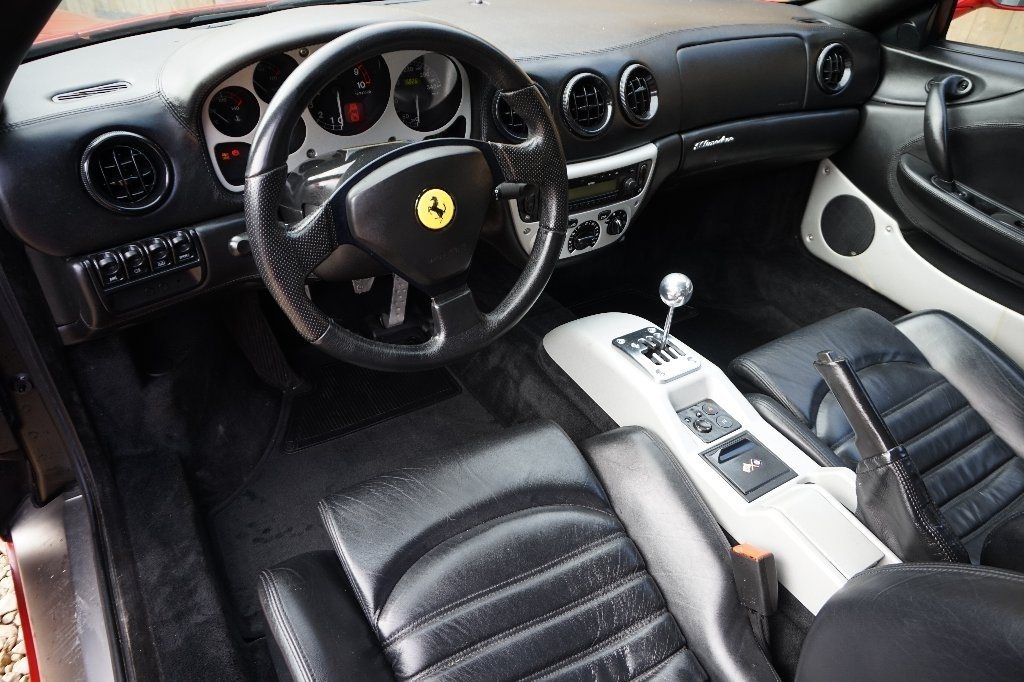 2000 FERRARI 6 SPEED MANUAL COUPE L.H.D For Sale (picture 4 of 6)