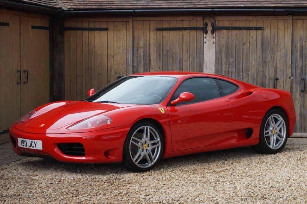 2000 FERRARI 6 SPEED MANUAL COUPE L.H.D For Sale (picture 6 of 6)