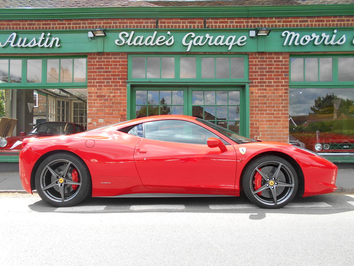 2011 Ferrari 458 Italia DCT Coupe  SOLD (picture 1 of 6)