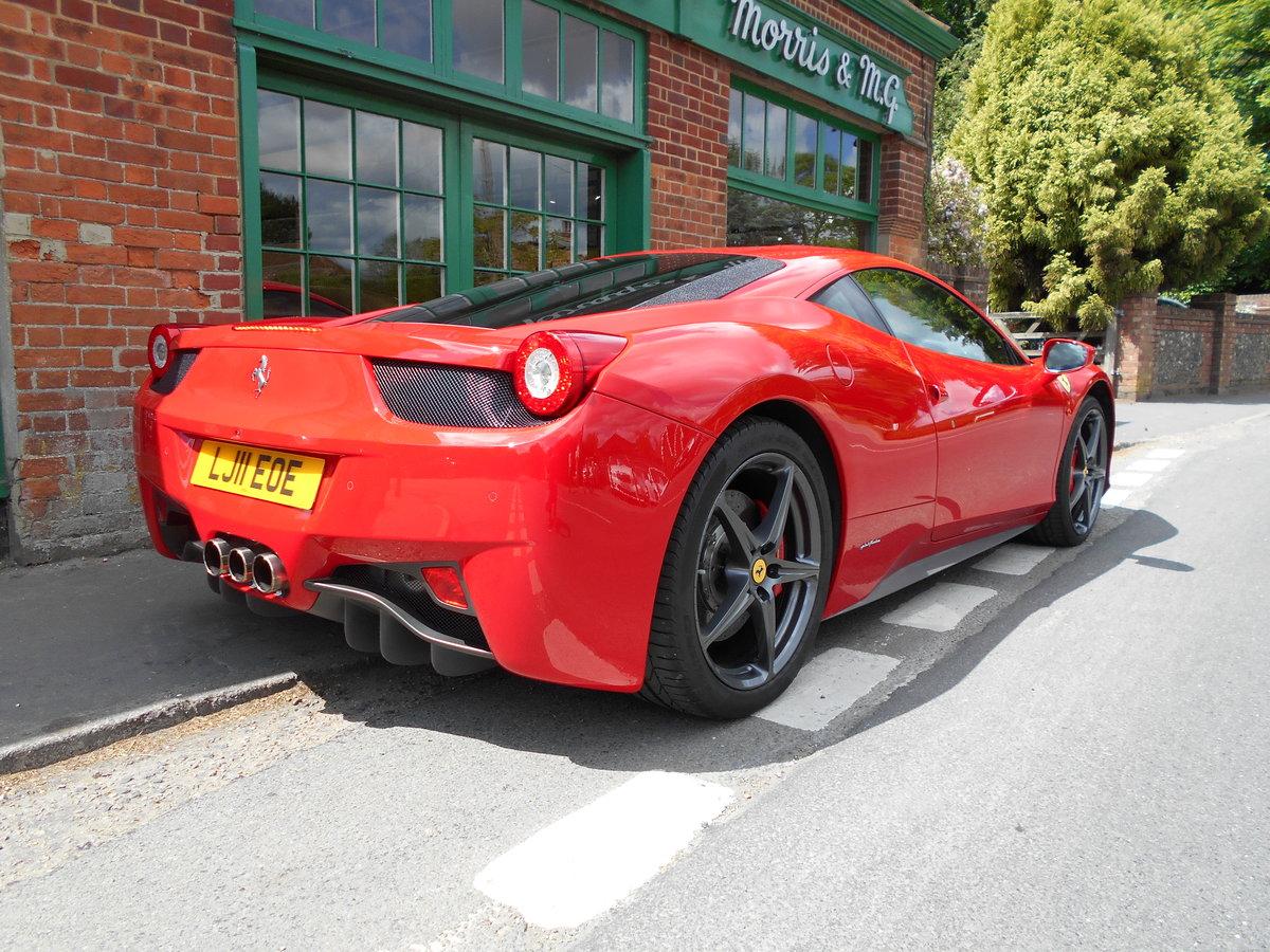 2011 Ferrari 458 Italia DCT Coupe  SOLD (picture 3 of 6)