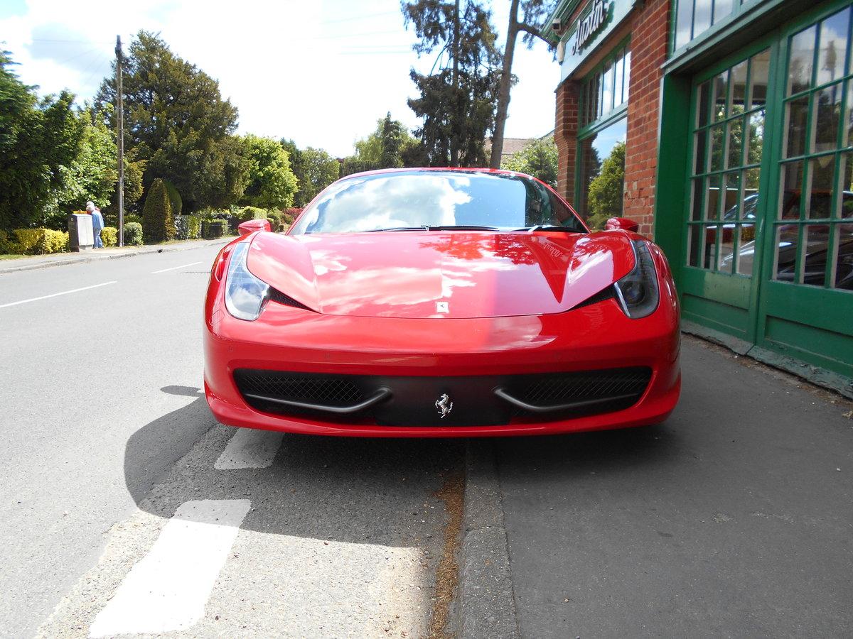 2011 Ferrari 458 Italia DCT Coupe  SOLD (picture 5 of 6)
