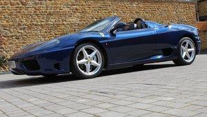 2003 Ferrari 360 Spider For Sale