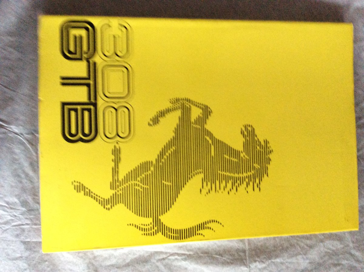 Ferrari Handbook 308 GTB For Sale (picture 1 of 1)