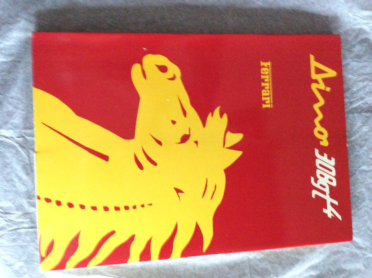 Ferrari 308 GT4 Handbook  For Sale (picture 1 of 1)