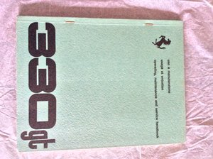 Ferrari 330 GT Handbook  For Sale
