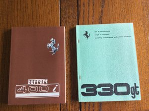 Ferrari 400 i Handbook  For Sale
