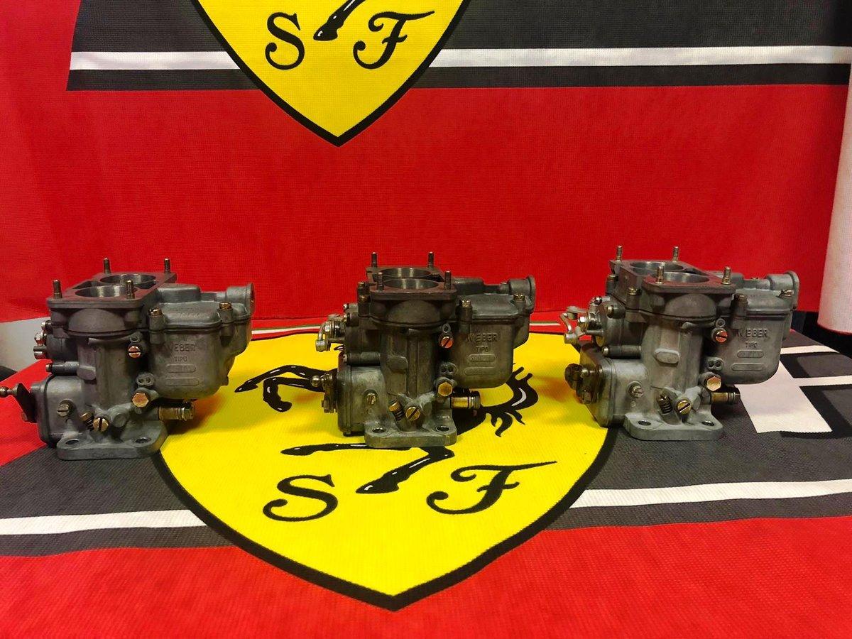 Ferrari 250 Carburetors Weber For Sale (picture 2 of 6)