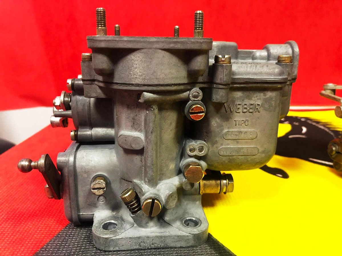 Ferrari 250 Carburetors Weber For Sale (picture 3 of 6)