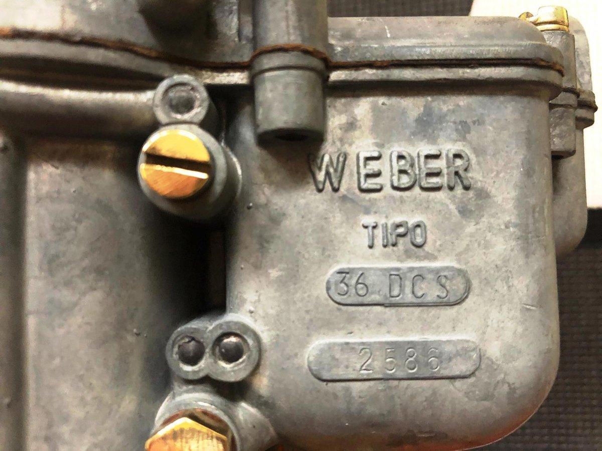 Ferrari 250 Carburetors Weber For Sale (picture 4 of 6)