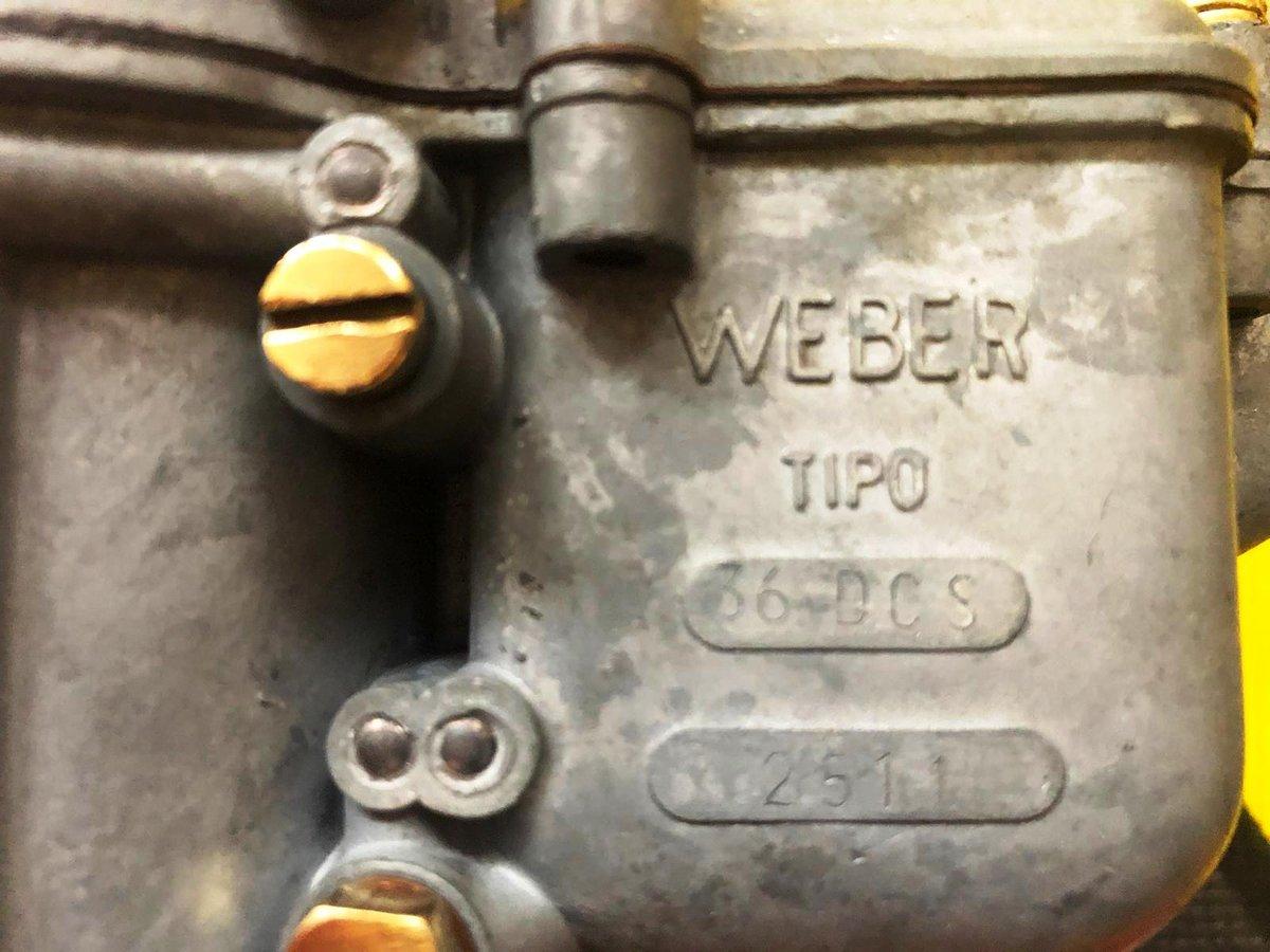 Ferrari 250 Carburetors Weber For Sale (picture 5 of 6)