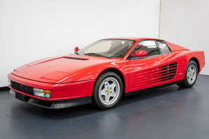 FERRARI TESTAROSSA LHD EUROPEAN SPEC 1989 For Sale