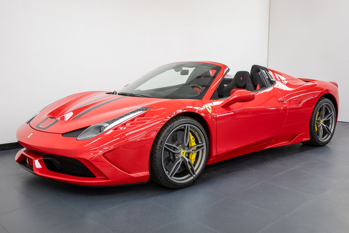 Ferrari 458 speciale aperta 2015 For Sale (picture 1 of 6)