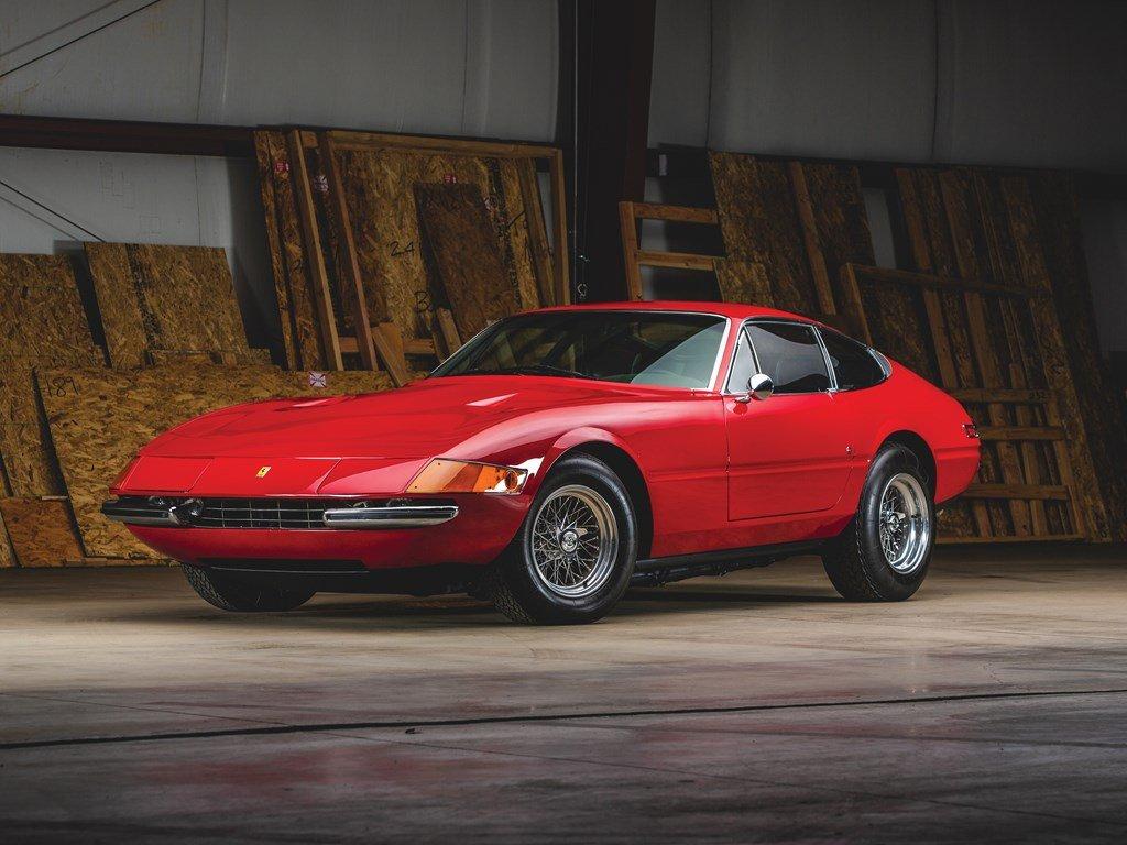 1971 Ferrari 365 GTB4 Daytona Berlinetta by Scaglietti For Sale by Auction (picture 1 of 6)