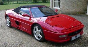 1997 Ferrari 355 Spider, 3,496 cc