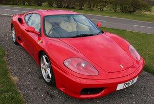 2002 Ferrari 360 Modena, 3,586cc For Sale by Auction