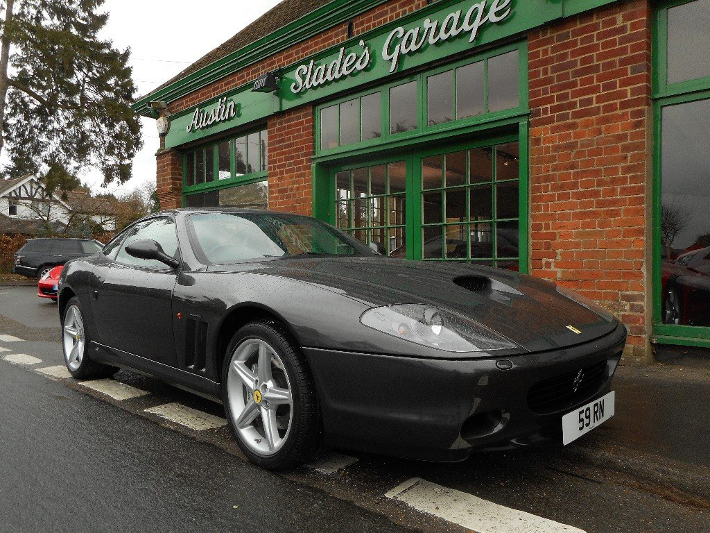 2003 Ferrari 575M Coupe Manual  SOLD (picture 2 of 4)