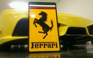 Ferrari dealership sign Regular price For Sale