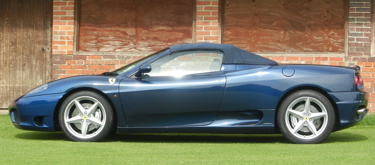 2003 Ferrari 360 Spider For Sale (picture 5 of 6)